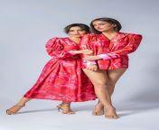 Aisha Sharma and Neha Sharma from siddharth sharma in underwear